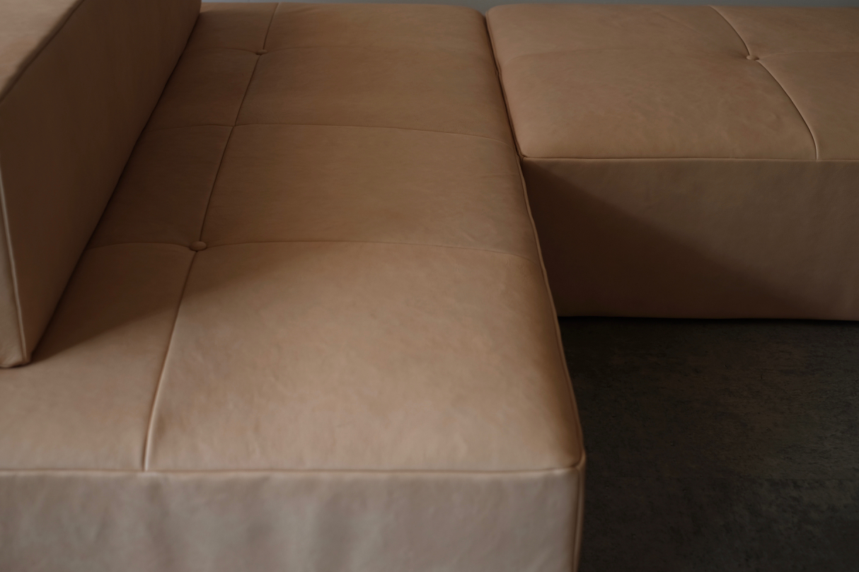 Custom made sofa | HLF | HIDA Leather furniture